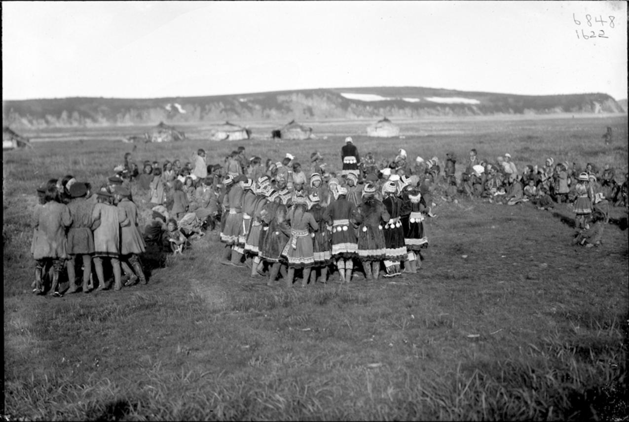 Танцы тунгусов, 1901