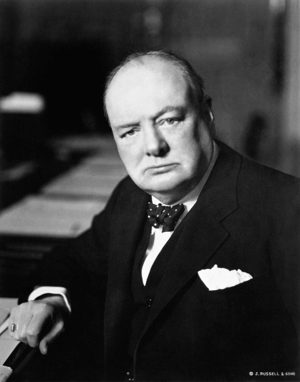 1939. Уинстон Черчилль