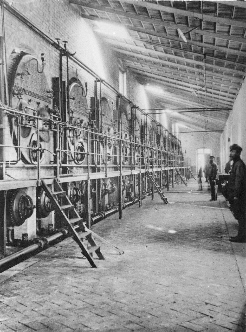 Центральная котельная на заводе Нобеля, Баку.