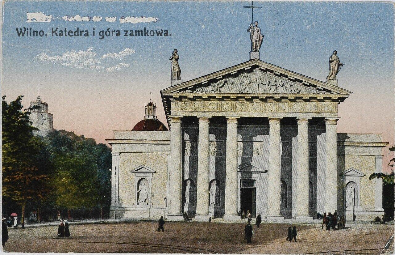 Кафедральный собор и Замковая гора