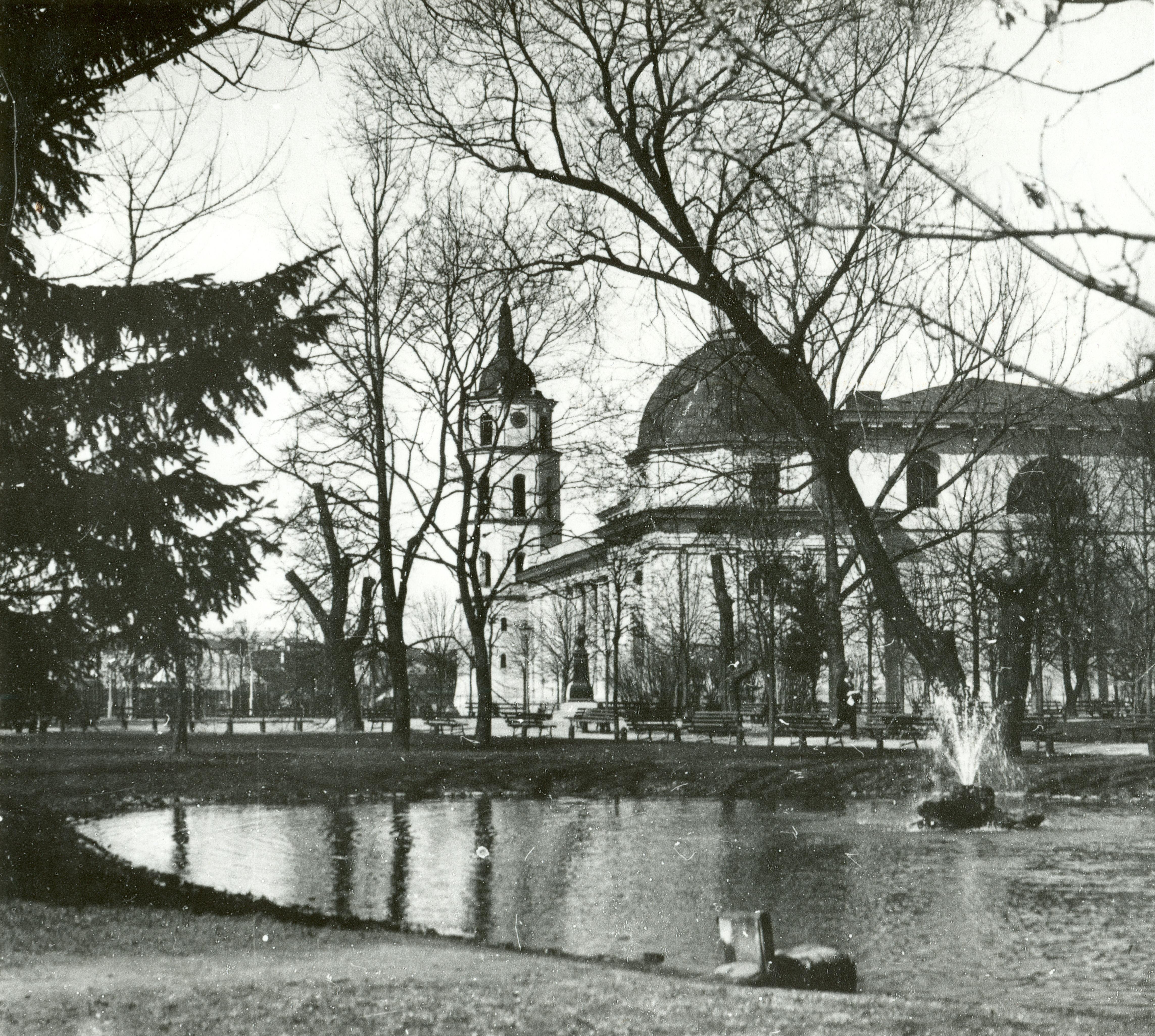 Соборная площадь. Вид с юго-восточной стороны