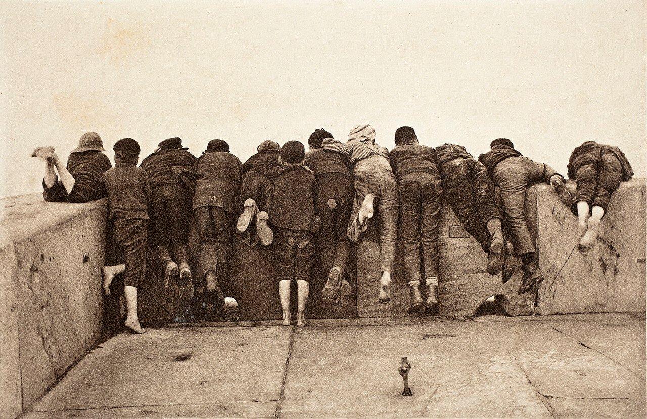 1890. Вид с кормы