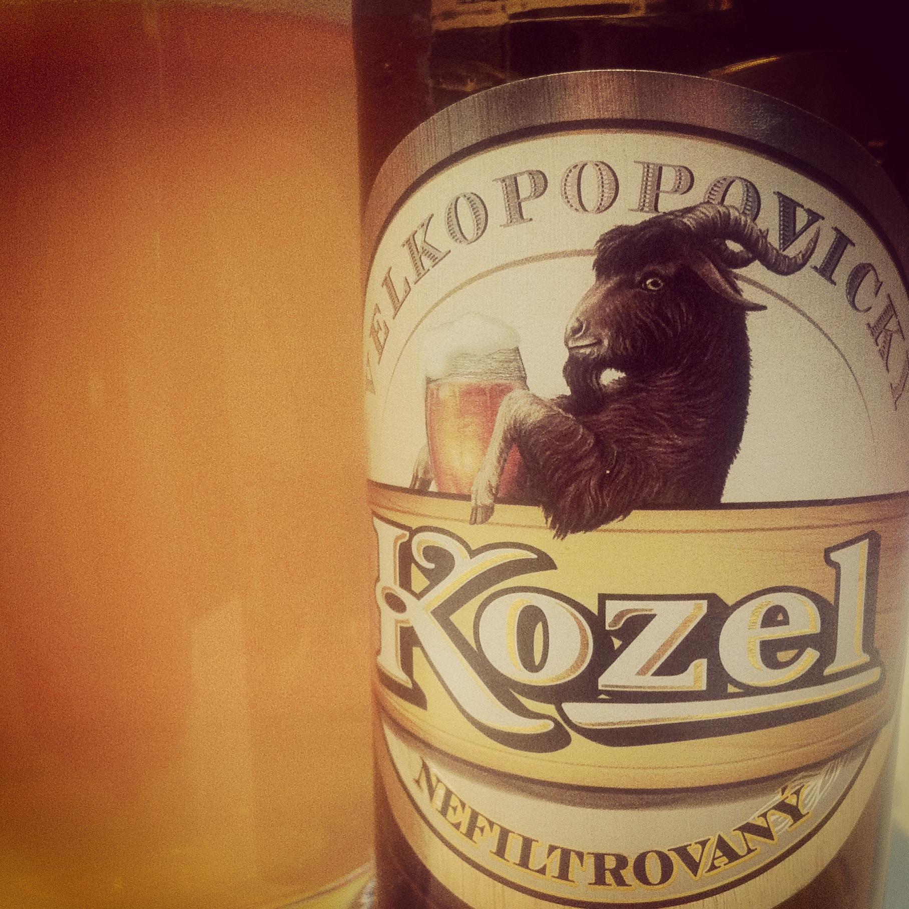 Пиво козел нефильтрованное