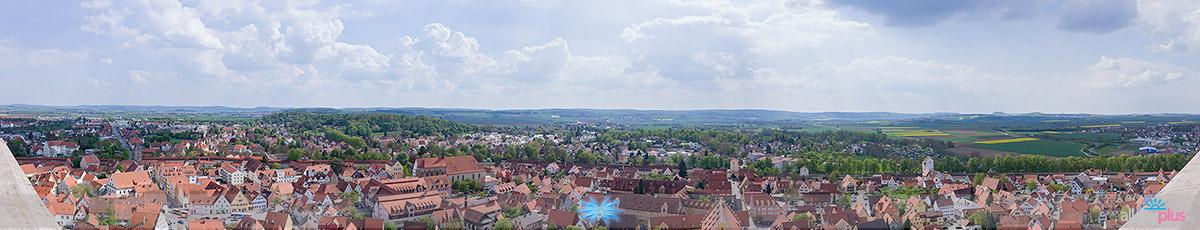 Город Нёрдлинген (Nördlingen), Бавария | Фотографии моего старшего сына.