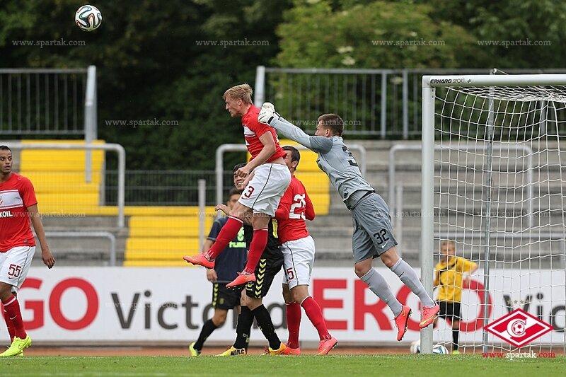 «Спартак» - «Брондбю» 0:0. Контрольный матч