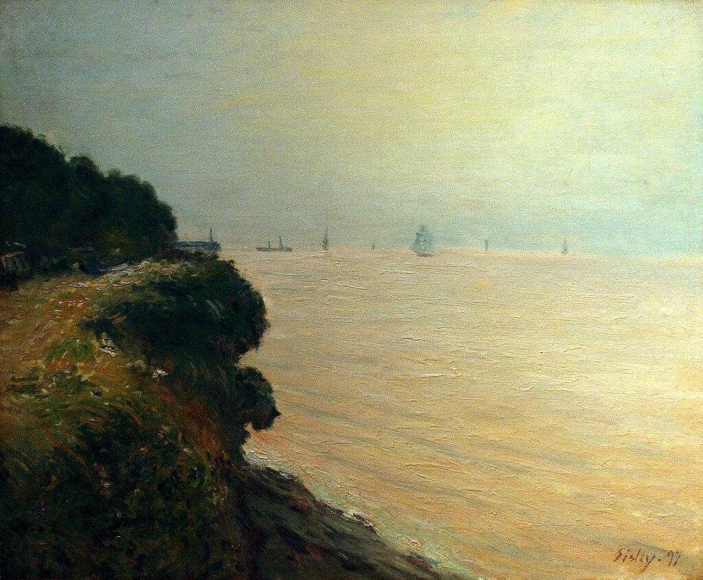 Langland Bay, England, Morning, 1897.jpg
