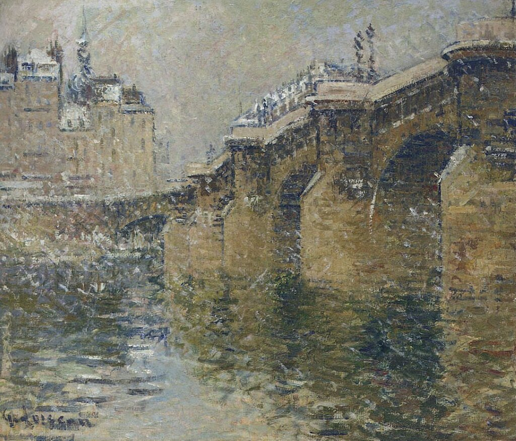 Pont Neuf in the Snow, 1922.jpeg