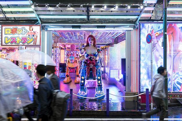 Ресторан роботов в Токио