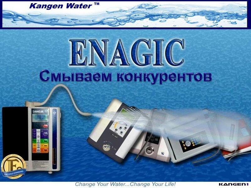Сравнение Enagic с конкурентами