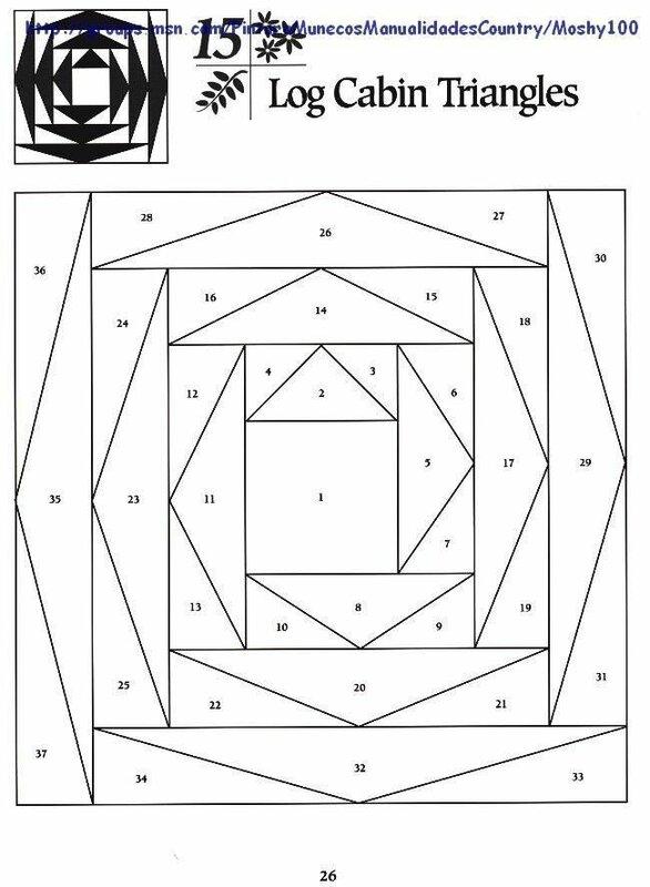 шаблоны для пэчворка