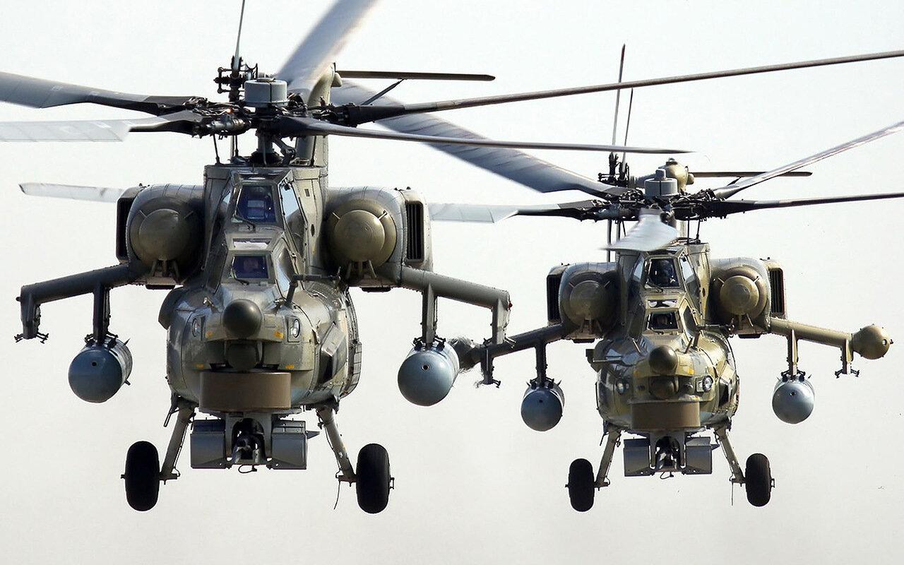 Ми-28, вертолет