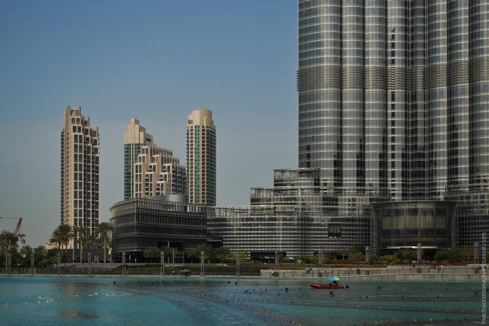 Почему потеют небоскребы? Бурж Халифа