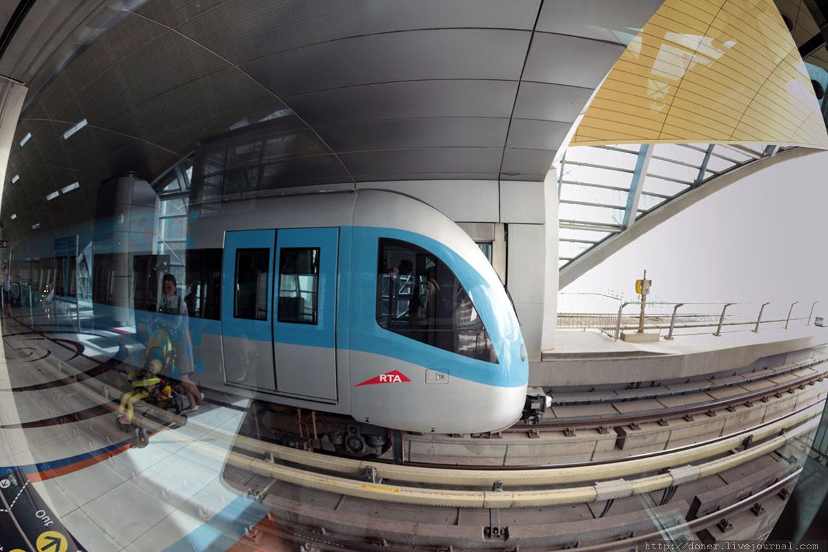 Дубай, метро