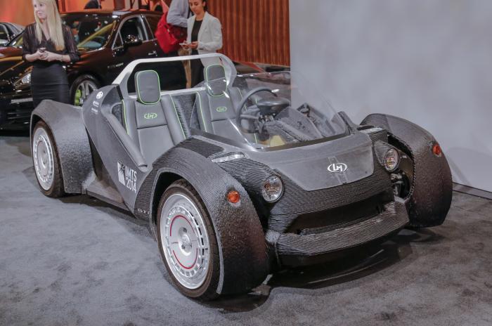 Первый автомобиль , отпечатанный на 3D-принтере. Аризонская компания Local Motors не так давно предс