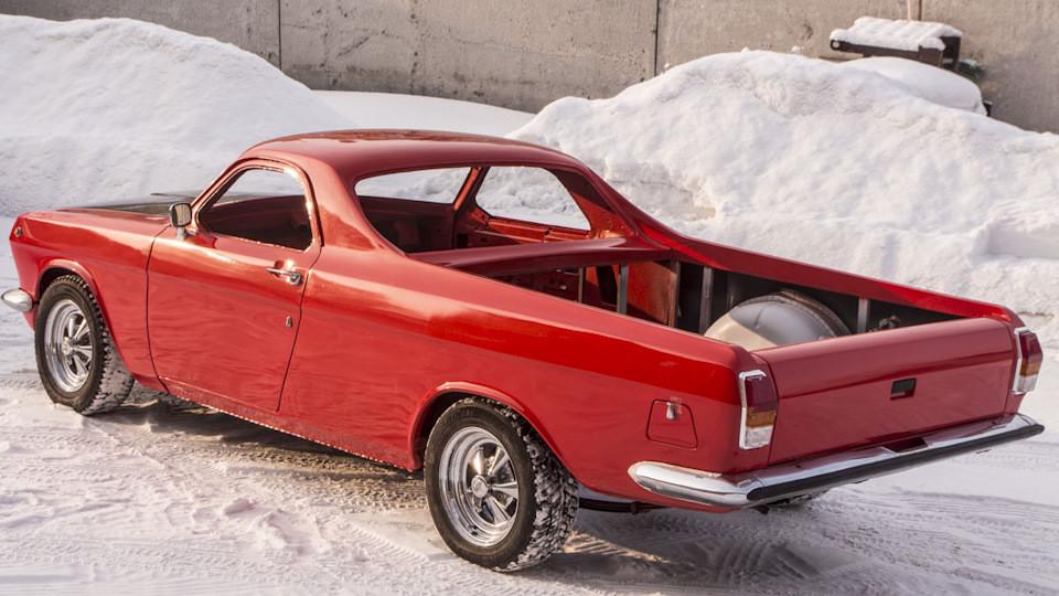 Сложно представить, что изначально автомобиль выглядел так.