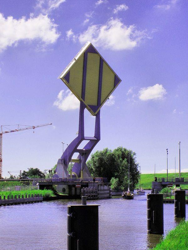 Подъемный мост Slauerhoffbrug