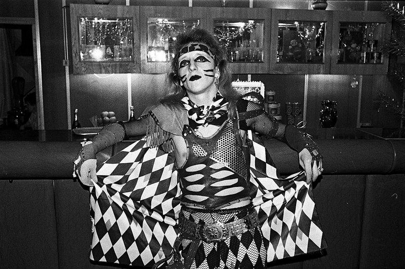 18. Воробей, солист группы «Коррозия металла», Москва 1986