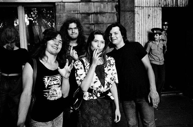 20. Паук, Боров, Сергей и Наташа, Москва 1988