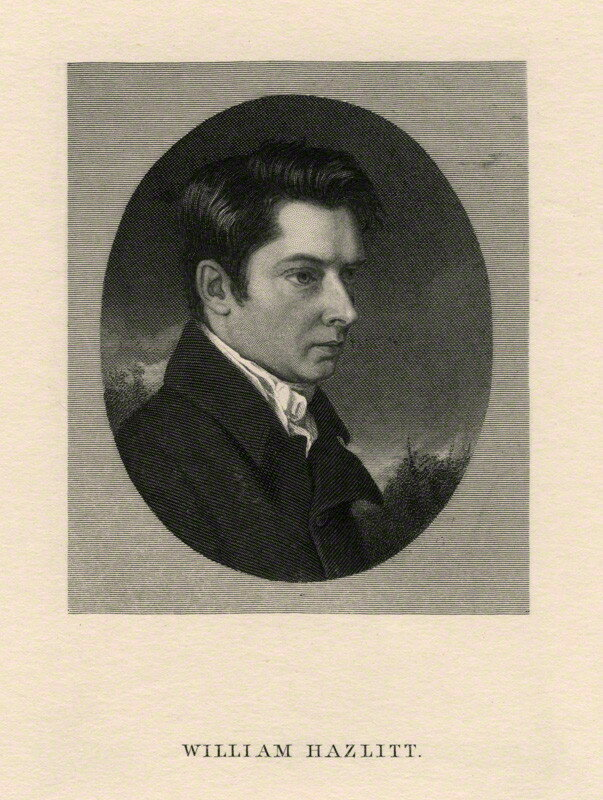william hazlitt essays and criticism Bio: william hazlitt was an english writer, remembered for his humanistic essays and literary criticism, and as an art critic, drama critic, social commentator, and philosopher.