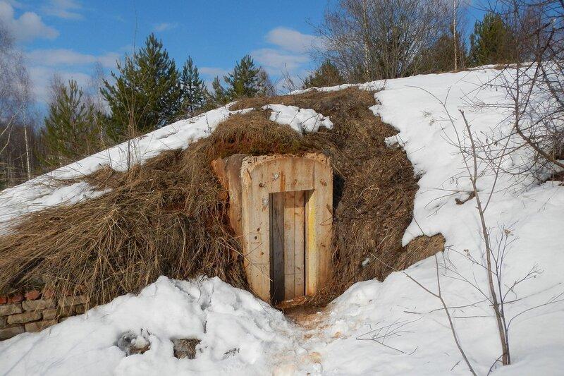 Вход в подземные укрепления