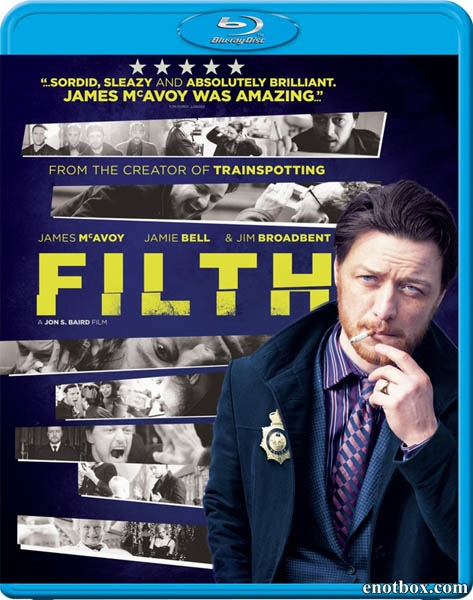 Грязь / Filth (2013/BDRip/HDRip/Гоблин)