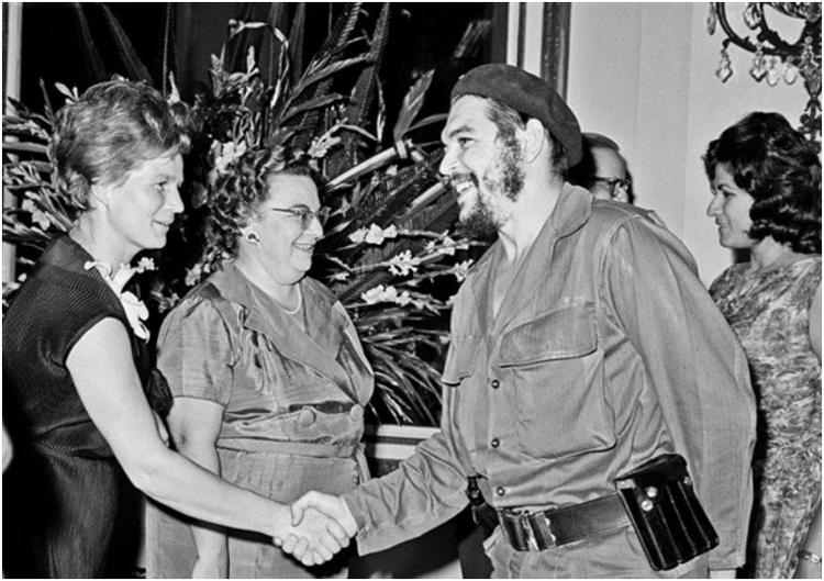Валентина Терешкова на Кубе, 1963 год