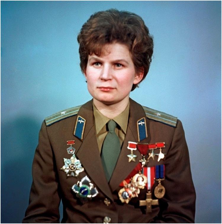 В.В. Терешкова в 1969 г.