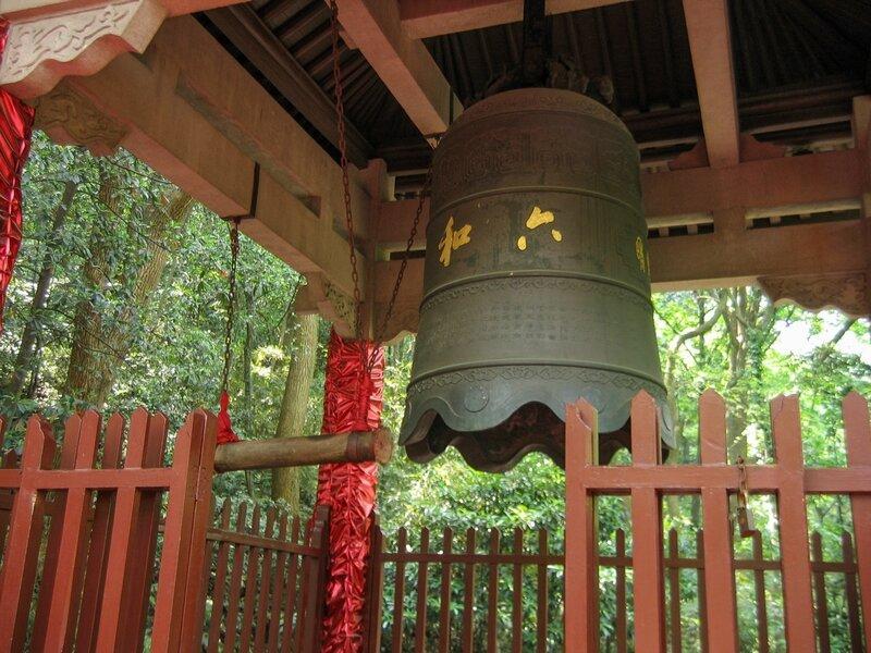 Колокол, Пагода Шести гармоний, Люхэта, Ханчжоу