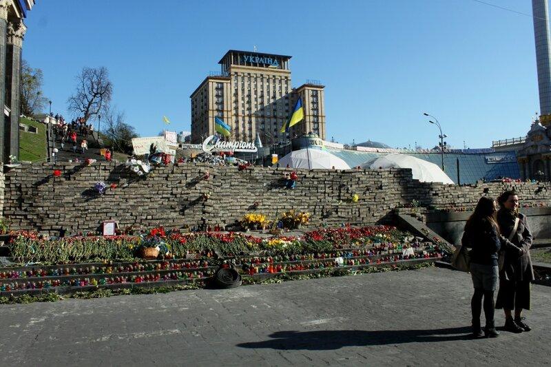 Мемориал на Майдане Незалежности