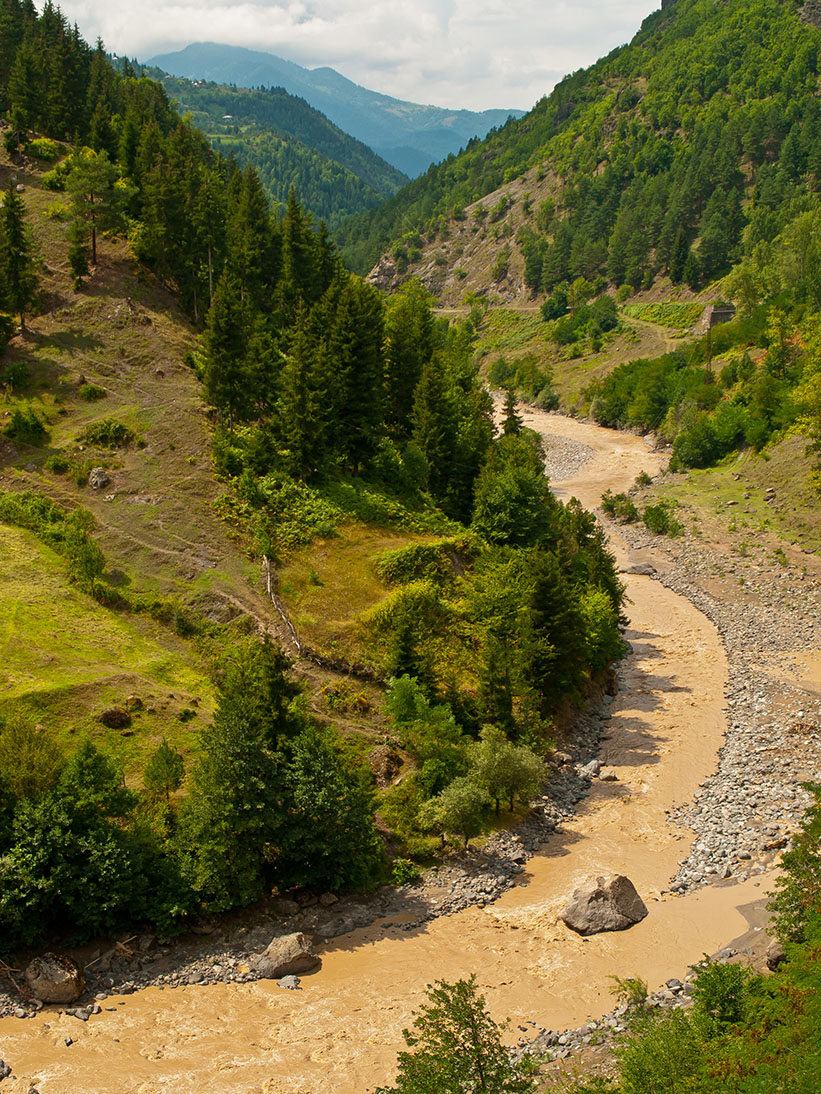 Сплав по рекам Грузии