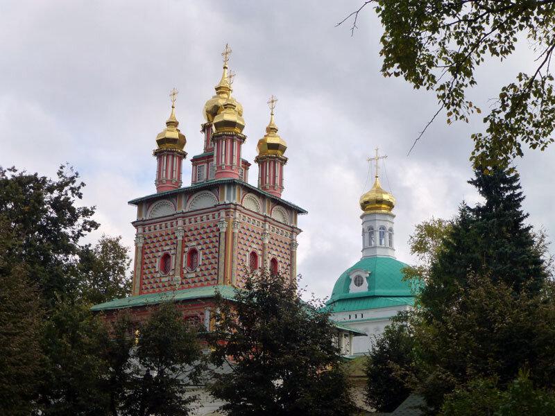 Монастыри Золотого Кольца 8 - Троице-Сергиева лавра (Сергиев Пасад)