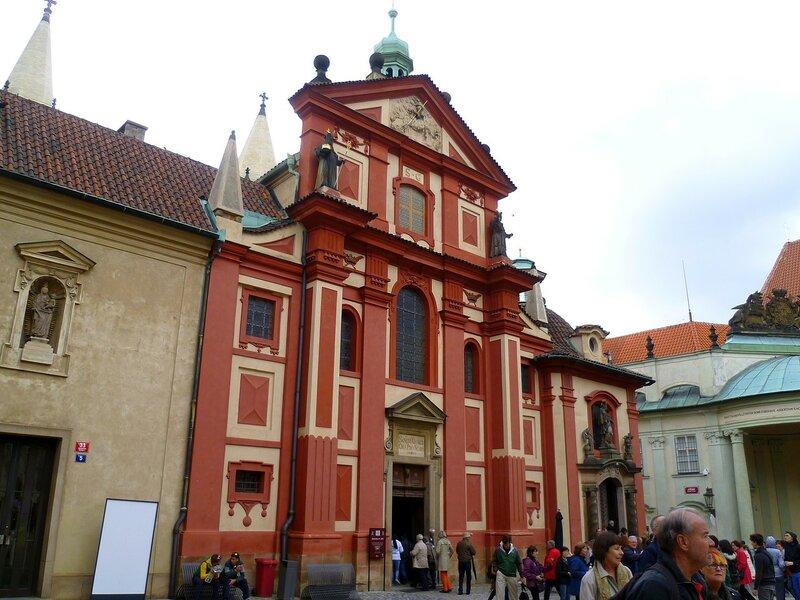Прага, церковь Святого Иржи (Prague, the Church of St. Jiri)