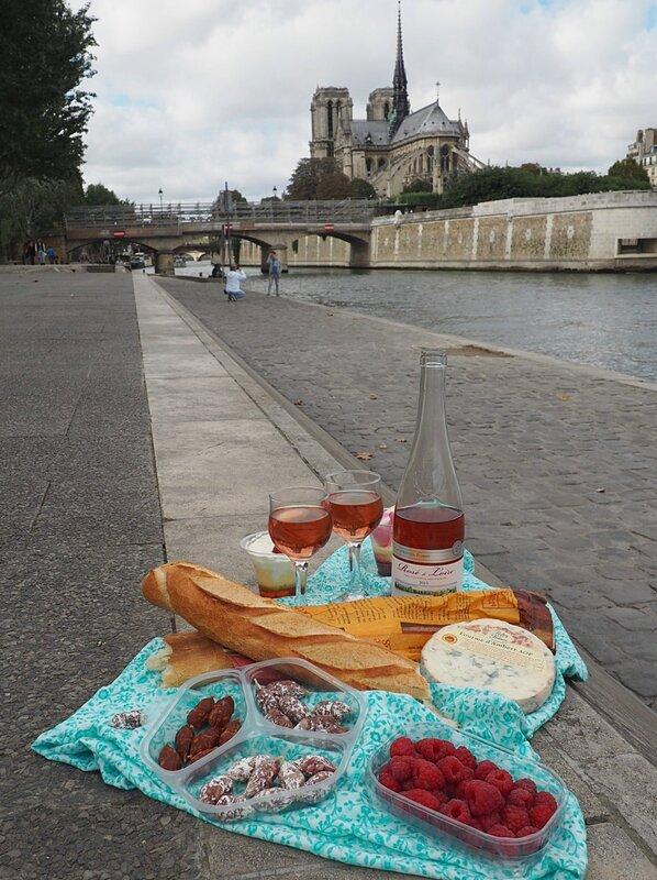 Еда во Франции - Париж (Food in France - Paris)