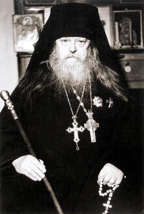 Архимандрит Исаакий (Виноградов). Фото 1974 г.