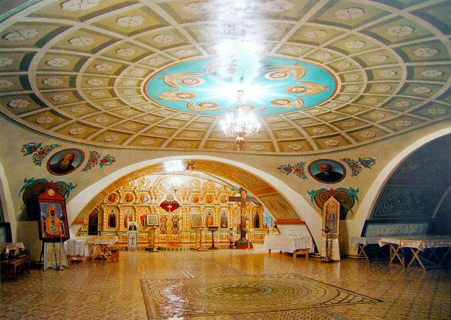 Нижний храм святителя Тихона Задонского в Вознесенском соборе
