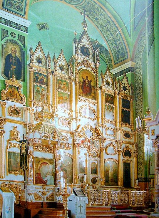 Иконостас Вознесенского собора Ельца