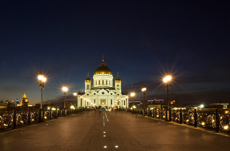 Москва Храм Христа Спасителя