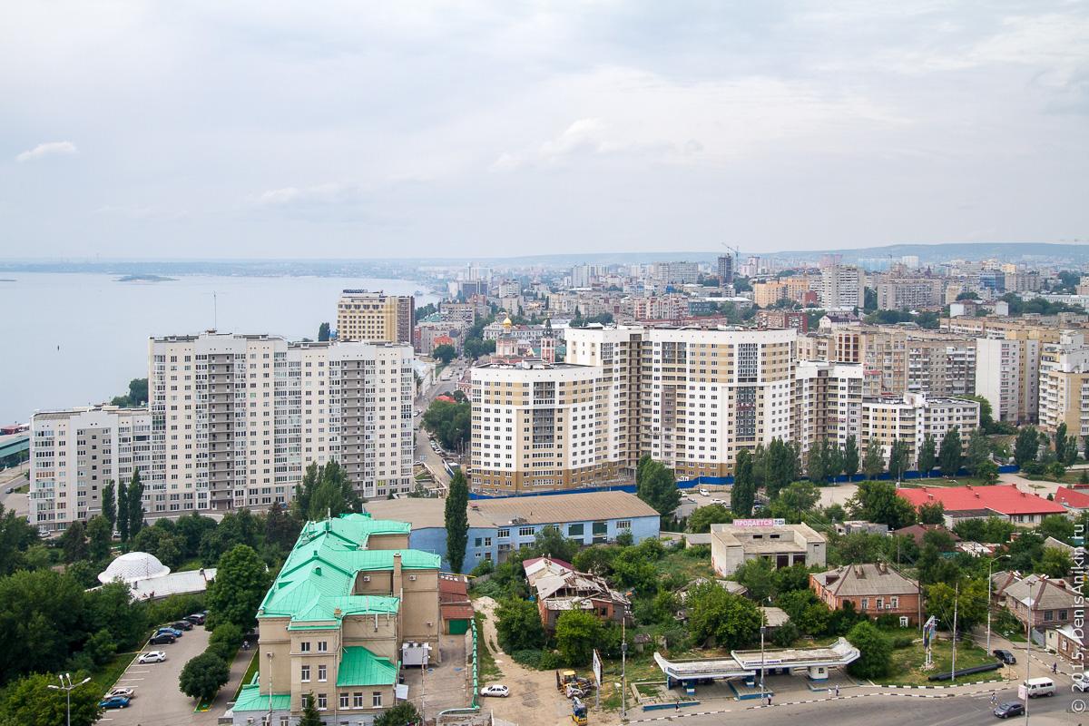 Саратов панорама крыша 20
