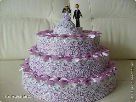 Торт из бонбоньерок на свадьбу
