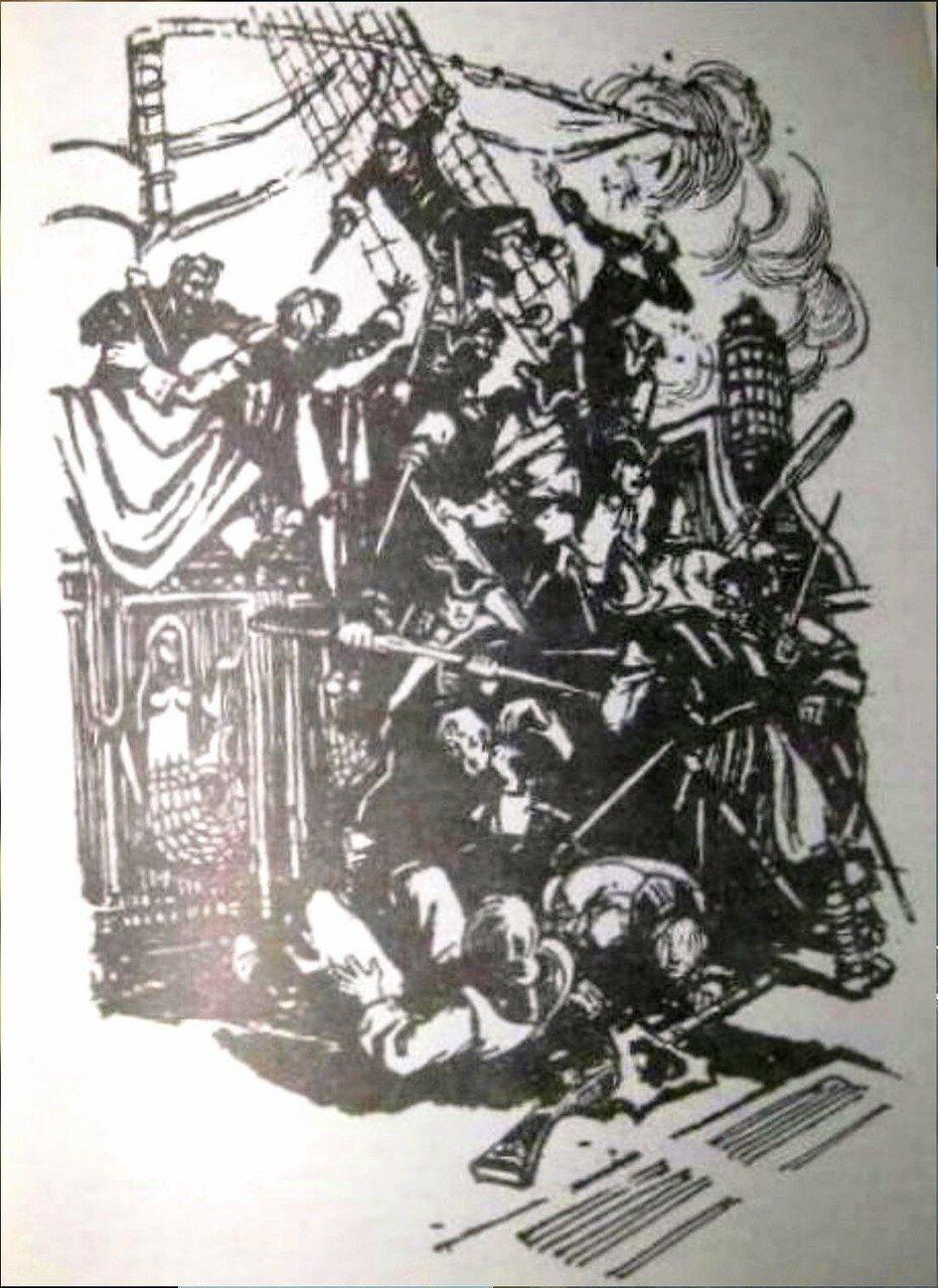 Иллюстрация Л. Я. Рубинштейна к роману Ю. Германа Россия молодая (6).jpg