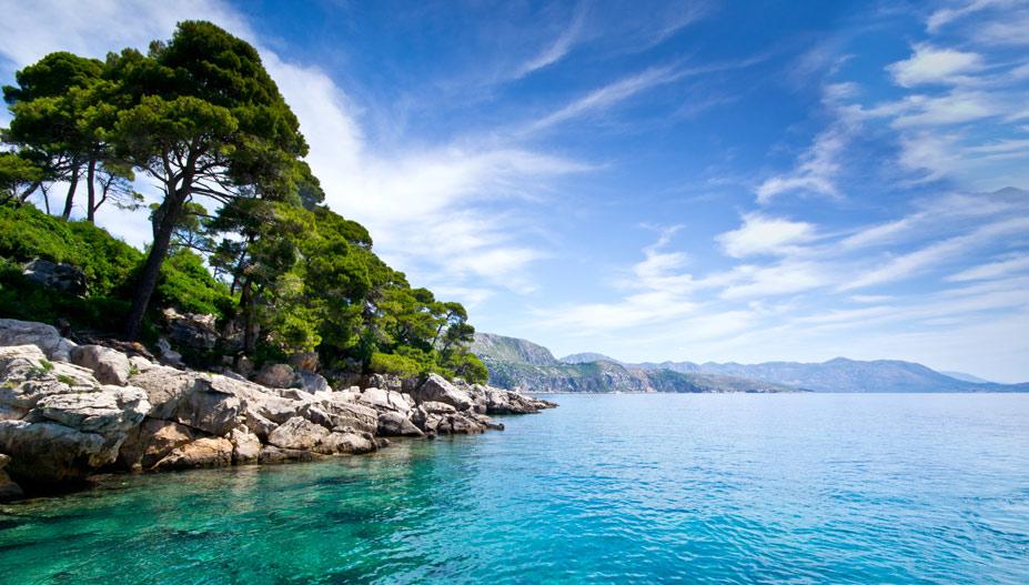 Lokrum Island, Дубровник, Хорватия - десять лучших нудистских пляжей мира / Ten Best Nude Beaches in the World