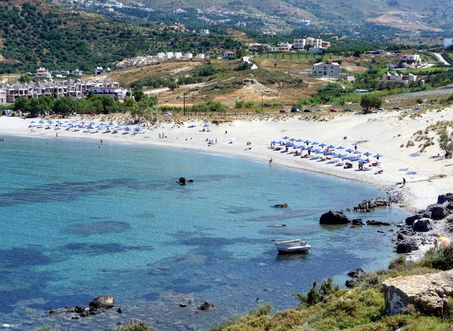 Plakias Beach, Плакиас, остров Крит - десять лучших нудистских пляжей мира / Ten Best Nude Beaches in the World