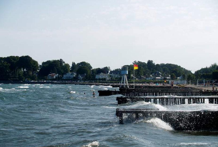 Bellevue Beach, Копенгаген, Дания - десять лучших нудистских пляжей мира / Ten Best Nude Beaches in the World