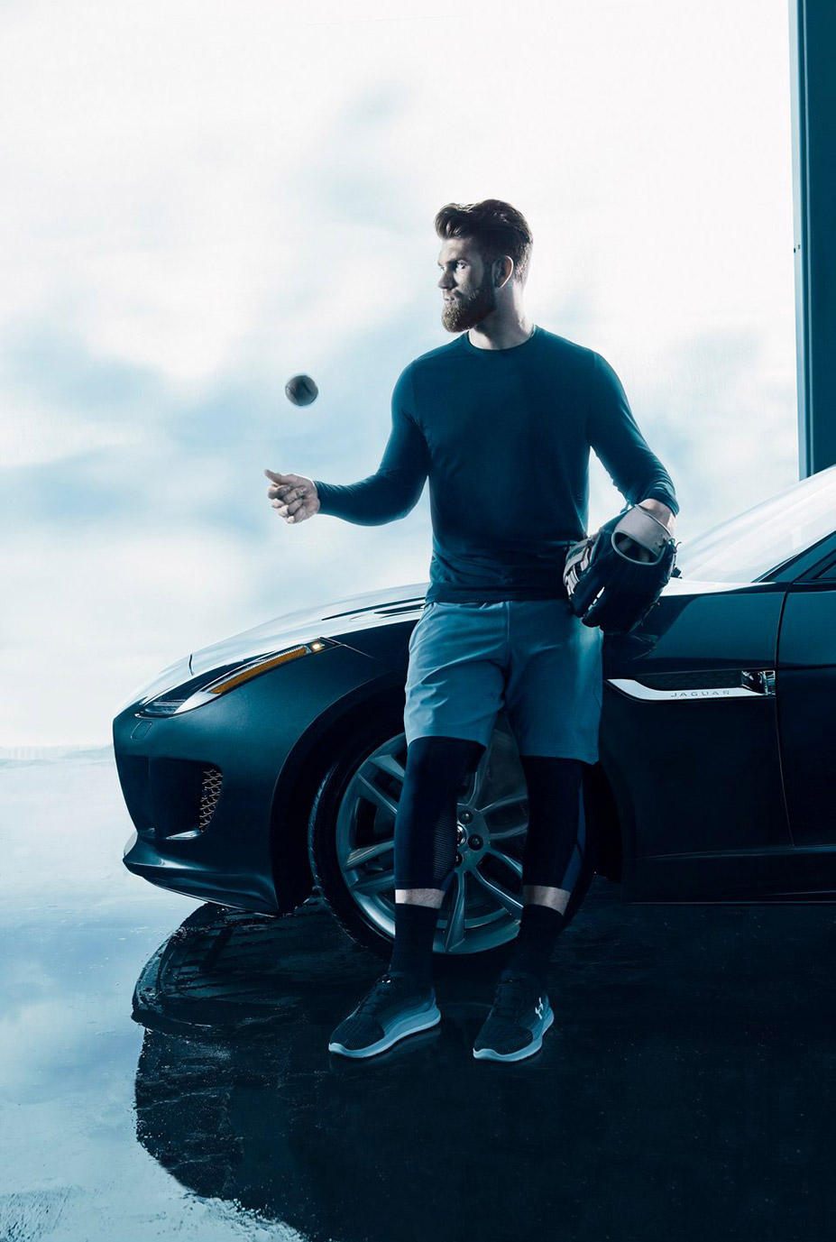 Брайс Харпер / Bryce Harper by Kai Regan – Jaguar F-type 2017
