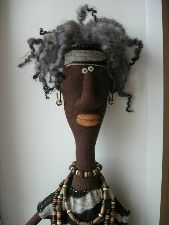 кукла африканец