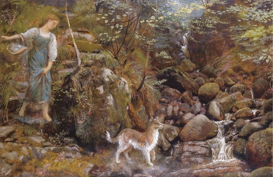 an ayrshire glen.