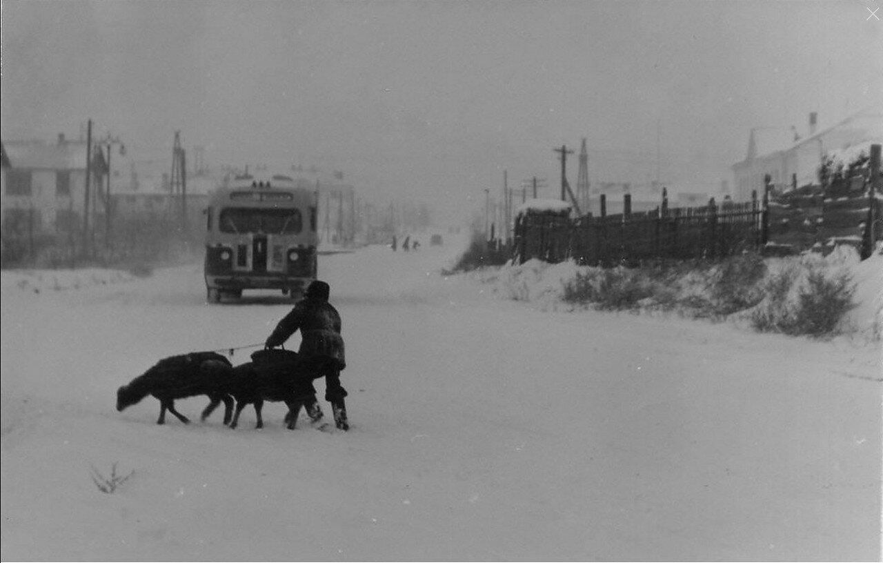 1949. Город в январе