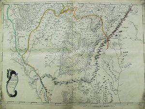07. Карта Уфимской провинции Ногайской дороги и прилегающих к последней мест
