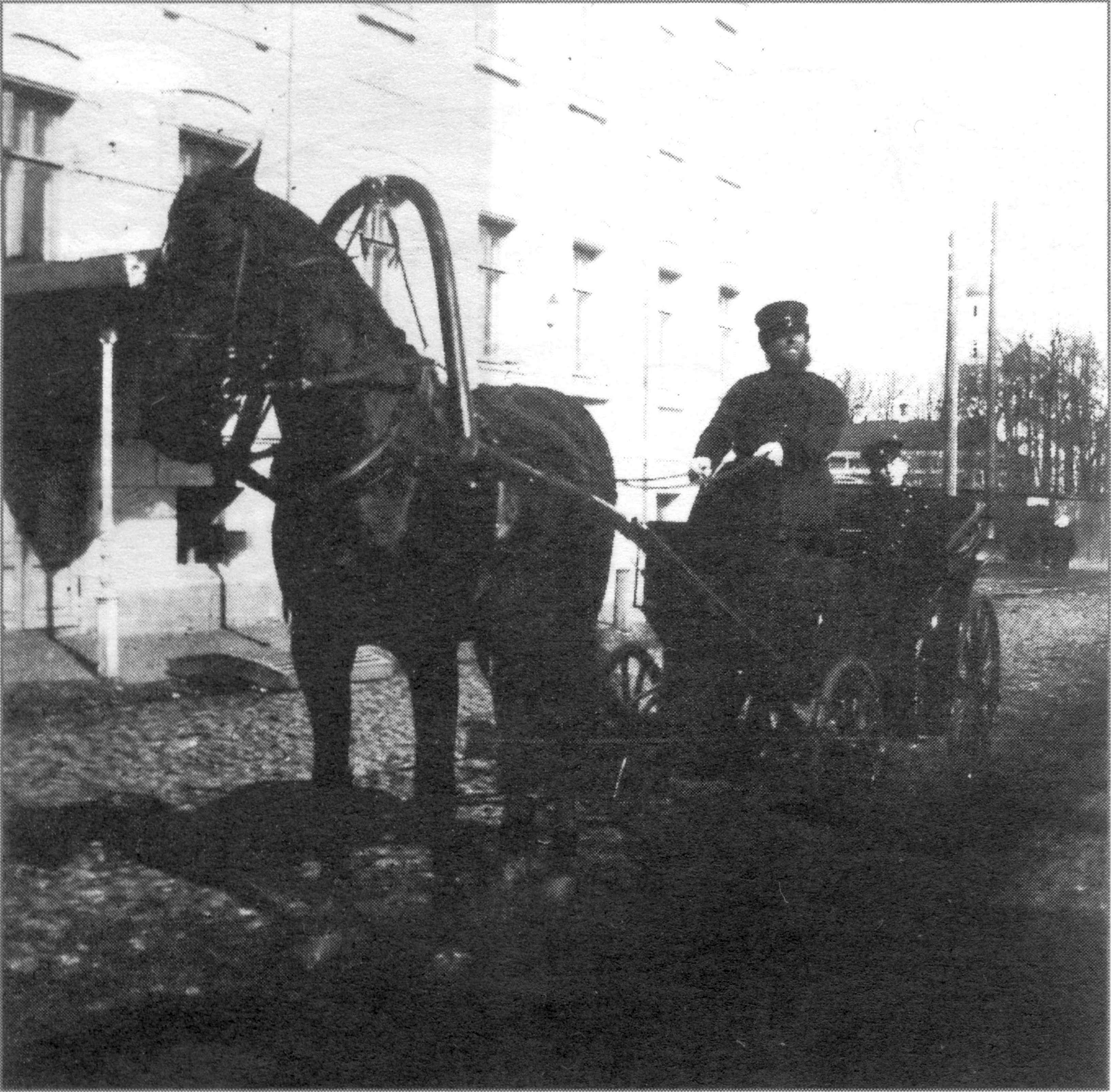 Основное средство передвижения нижегородцев в начале XX века