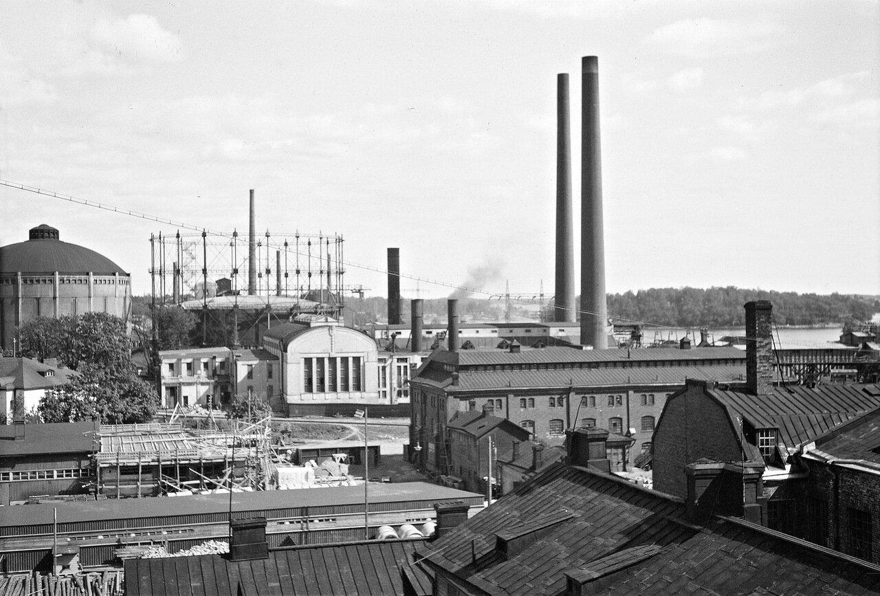 1941. 20 июня. Промышленный район города.